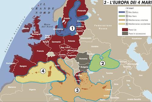 L'Europa dei 4 mari