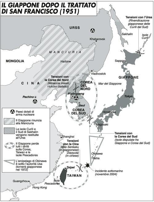 Cina o Giappone? Le isole contese e il declino degli Usa