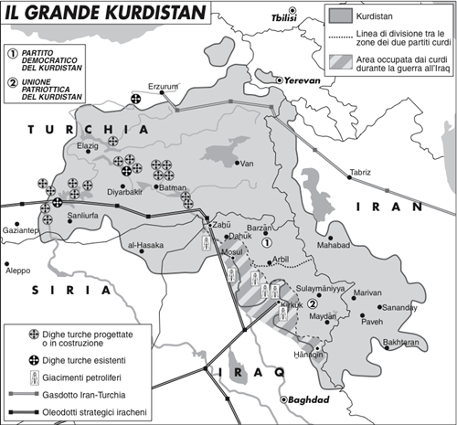 I curdi di Siria spaventano la Turchia