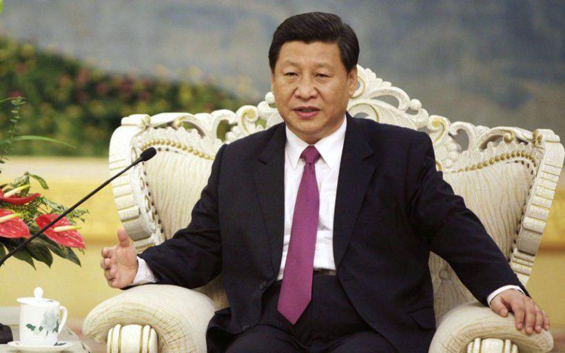[Il presidente della Repubblica Popolare Cinese Xi Jinping]
