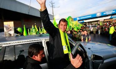 La rivoluzione cittadina di Correa convince l'Ecuador