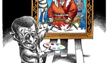 Vignetta: Chávez visto da Ahmadi-Nejad