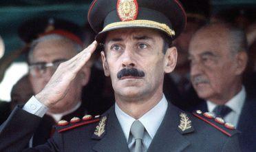 Il presidente argentino (1976-81) Jorge Videla.