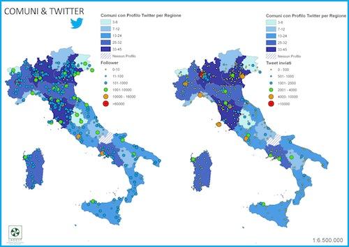 I comuni italiani scoprono Twitter