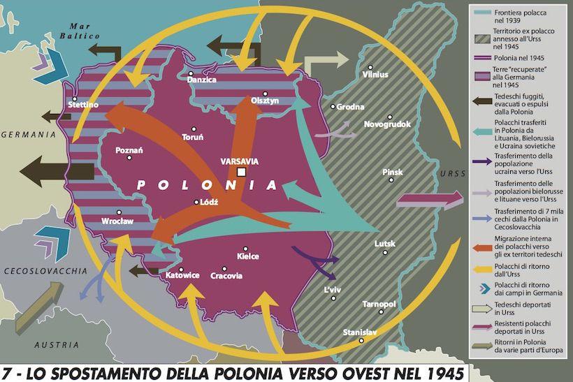 Cartina Geografica Europa Ovest.La Polonia E Un Paese Dell Europa Centrale E Non E Una
