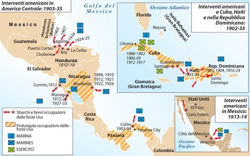 Stati America Centrale Cartina.Violenza Bassa Crescita E Accordi Storici Il 2014 Dell