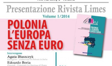 """Ad Ancona, presentazione di """"Polonia l'Europa senza euro"""""""