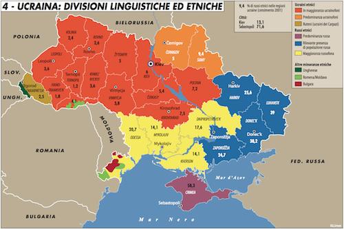 Le leve di Putin nell'Ucraina dell'Est