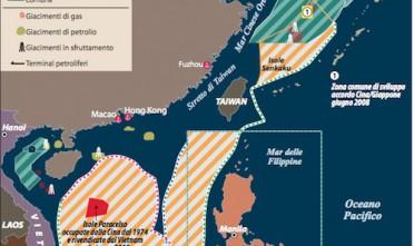 La piattaforma petrolifera della Cina riapre la disputa con il Vietnam