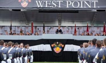 Il discorso di Obama sulla guerra ai cadetti di West Point