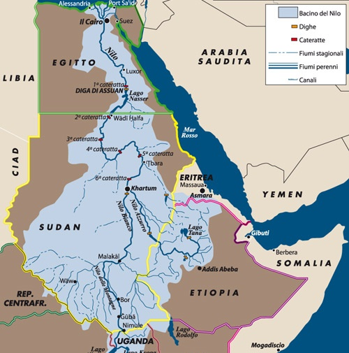 Cartina Dell Africa Orientale.L Italia Torna Nel Corno D Africa Limes