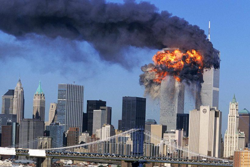 [L'attentato alle Torri Gemelle, New York, 11 settembre 2001. Fonte: repubblica.it]