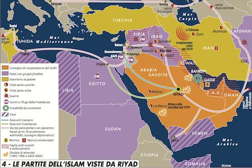Alla radice delle ossessioni arabo-saudite
