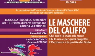 """A Bologna, Limes presenta """"Le maschere del califfo"""""""