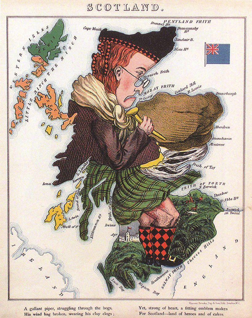 scozia_vignetta_carta_storica