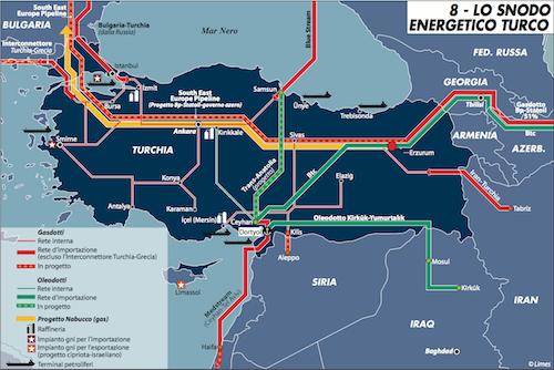 South stream addio, il gas di Putin va in Turchia