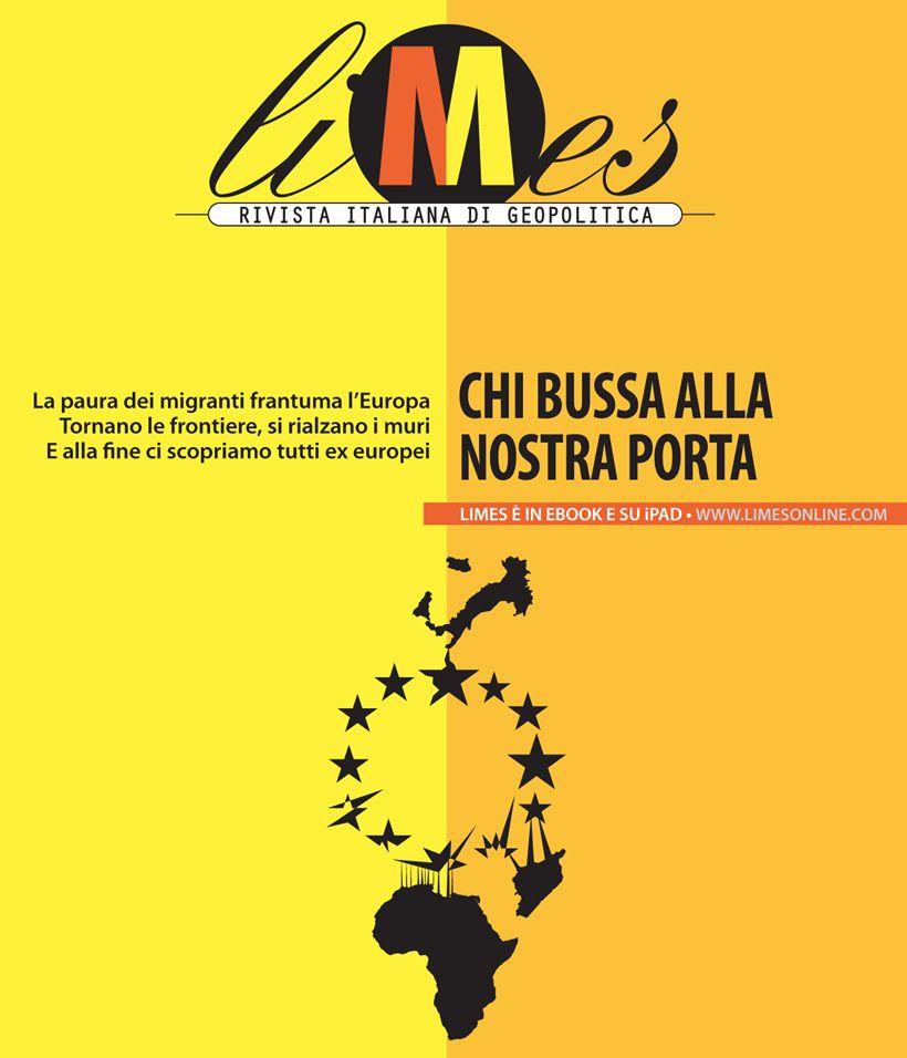 La copertina del numero, a cura di Laura Canali
