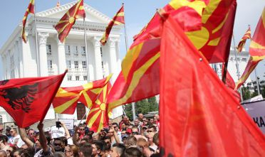Thousands protest against Macedonia Government