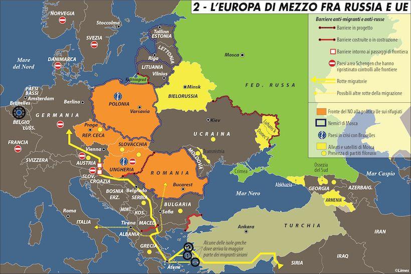 Europa E Asia Cartina.Est Est Est Gli Interessi Nazionali Nella Nuova Europa