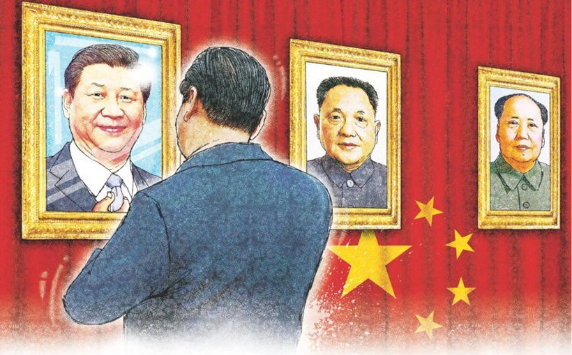 Illustrazione di Henri Wong apparsa sul South China Morning Post