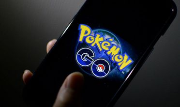The logo of Pokemon GO is pictured on a smartphone in this photo illustration taken in Tokyo July 15, 2016.  Pokemon Gof canft come soon enough for japanese fans. July 15, 2016. Pokemon Gof canft come soon enough for japanese fans. (Photo by Hitoshi Yamada/NurPhoto via Getty Images)