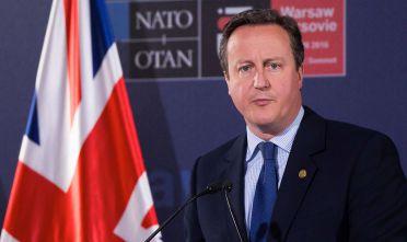 Press conference of David Cameron on NATO Summit in Warsaw, 09 July, 2016, Poland (Photo by Krystian Dobuszynski/NurPhoto via Getty Images)