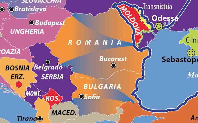 Romania dettaglio