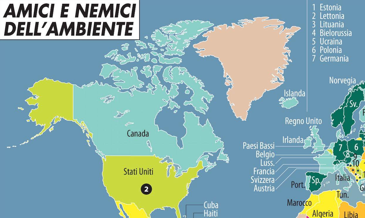 Dettaglio Usa amici e nemici ambiente