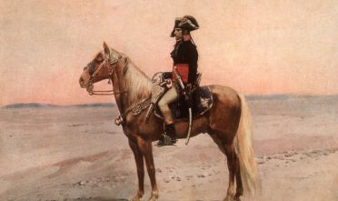 Napoleone, dal quadro di Edouard Detaille (Photo by Hulton Archive/Getty Images)