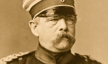 Il cancelliere prussiano Otto Eduard Leopald von Bismarck-Schonhausen (Foto: Hulton Archive/Getty Images).