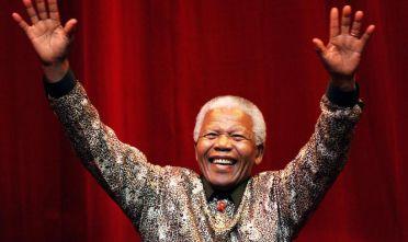 Nelson Mandela, settembre 2000 (Foto: Hamish Blair/Liaison).