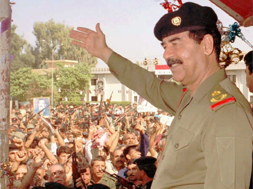 Saddam Hussein (Foto: INA/AFP/Getty Images).