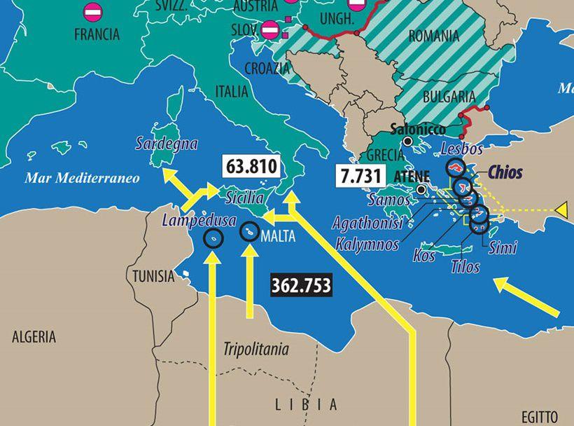Fortezza Europa contro i migranti