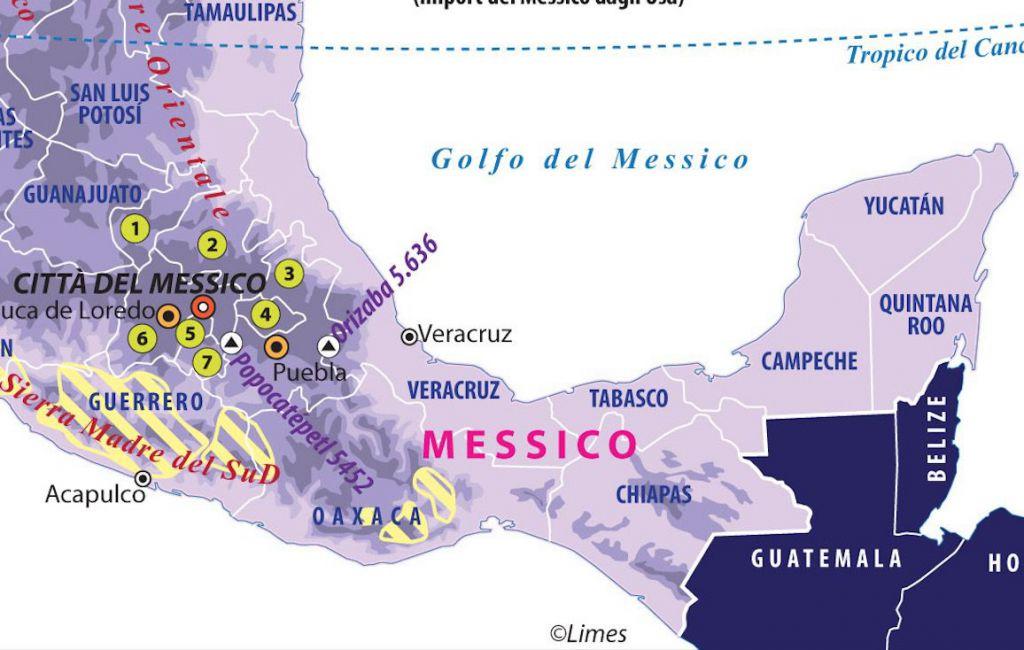 Cartina Geografica Politica Del Messico.Citta Del Messico La Cina Libera Limes