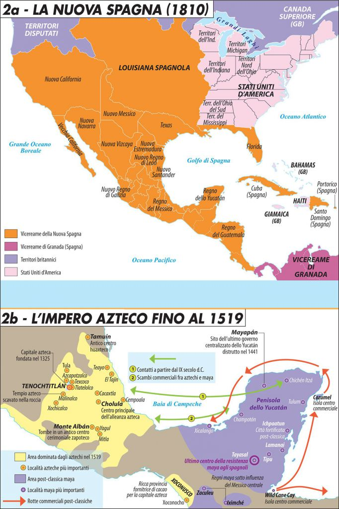 la nuova spagna    l u2019impero azteco