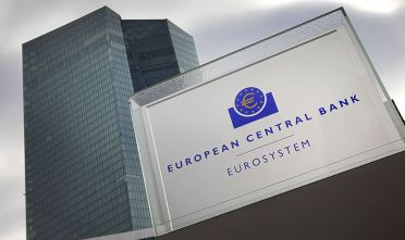 "A picture taken on October 26, 2017 shows the building of the European Central Bank (ECB) in Frankfurt am Main, western Germany. European Central Bank chief Mario Draghi said the eurozone economy still relied on ""an ample degree"" of stimulus in the face of sluggish inflation. / AFP PHOTO / Daniel ROLAND        (Photo credit should read DANIEL ROLAND/AFP/Getty Images)"