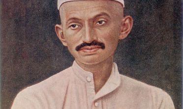 Ritratto del giovane Gandhi (1869-1948), 1905 circa. (Foto: Hulton Archive/Getty Images).