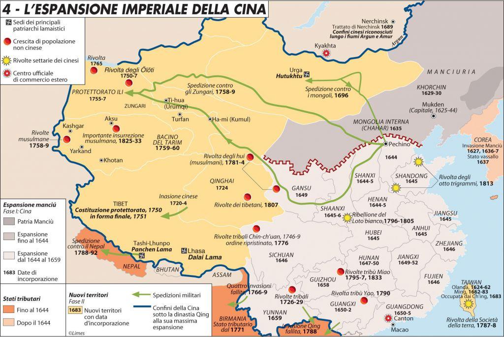 Cartina Climatica Cina.Le Terre Rare Della Mongolia Interna Nella Guerra Tecnologica Limes
