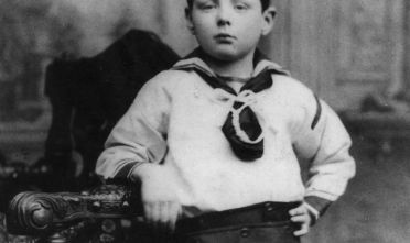 Winston Leonard Spencer Churchill all'età di 7 anni, 1883  (Foto: Hulton Archive/Getty Images).