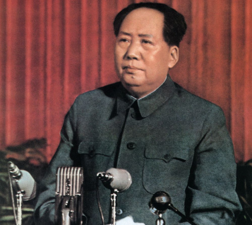 Mao Zedong, 1957.         (Foto: /AFP/Getty Images).