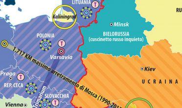 La Svezia e la sua sfera d'influenza