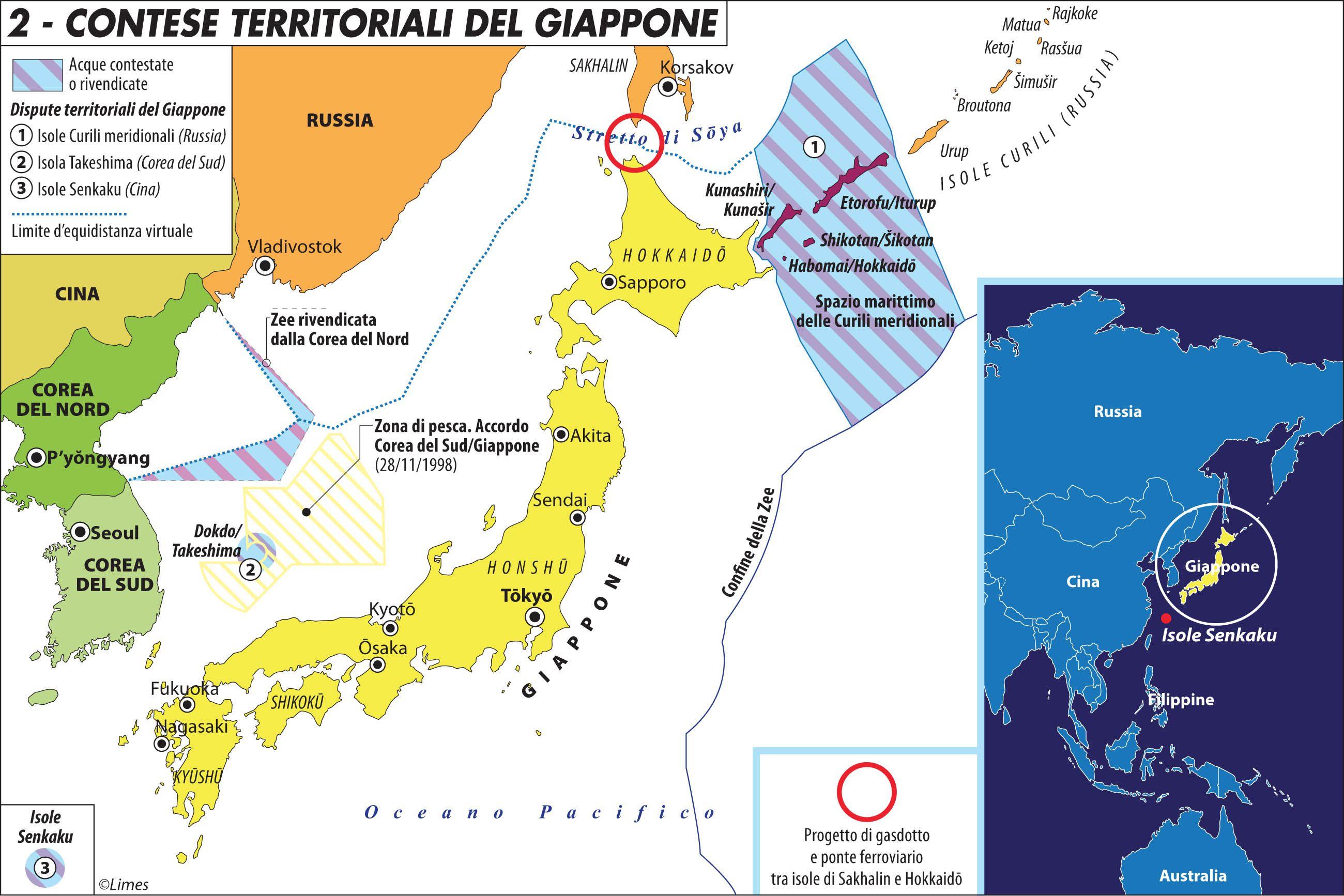 Cina E Giappone Cartina Geografica.Diaoyu Senkaku Storia Delle Isole Contese Tra Cina E