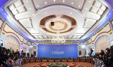 Prima sessione dei negoziati di Astana sulla Siria, gennaio 2017. Foto di: KIRILL KUDRYAVTSEV/AFP/Getty Images