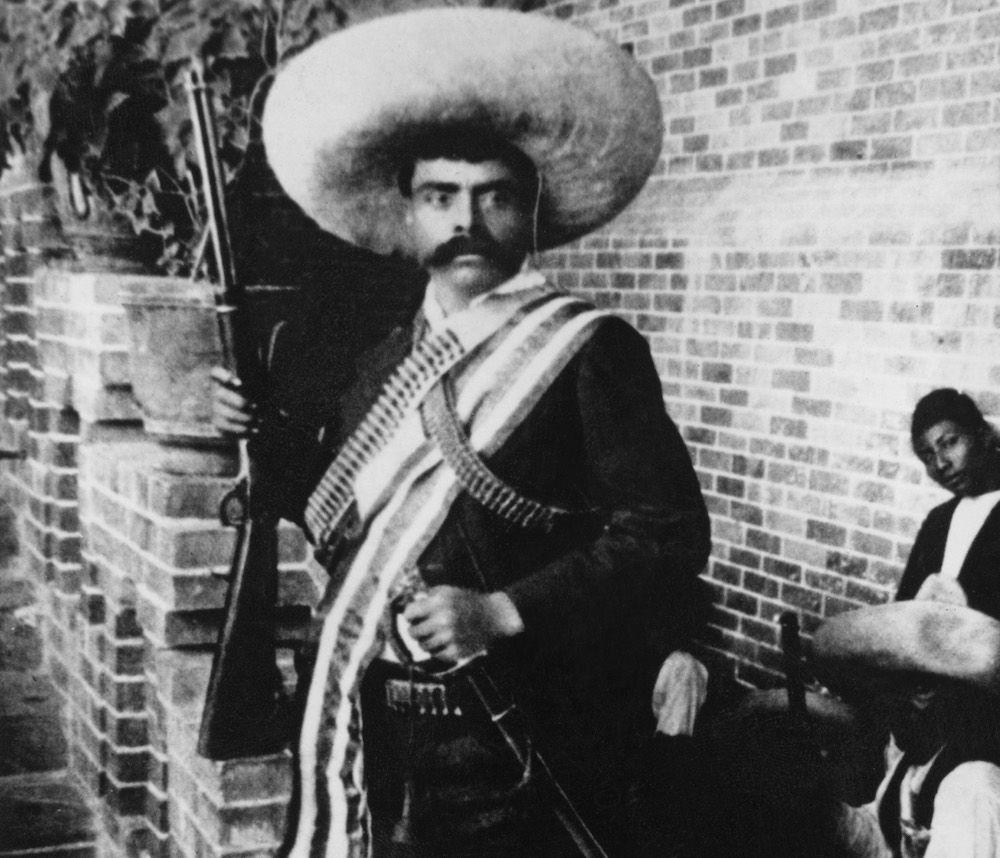 Il leader rivoluzionario messicano Emiliano Zapata, 1915 (Foto: Hulton Archive/Getty Images).