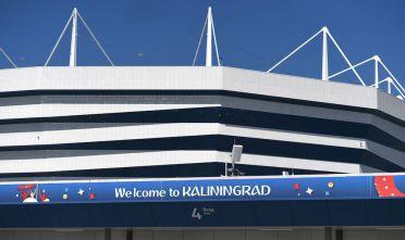 L'Arena Baltika di Kaliningrad, stadio che ospiterà quattro partite di Russia 2018 (Foto: ATTILA KISBENEDEK/AFP/Getty Images).