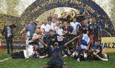 La Francia campione del mondo, Mosca 15 luglio 2018 (Foto: FRANCK FIFE/AFP/Getty Images).