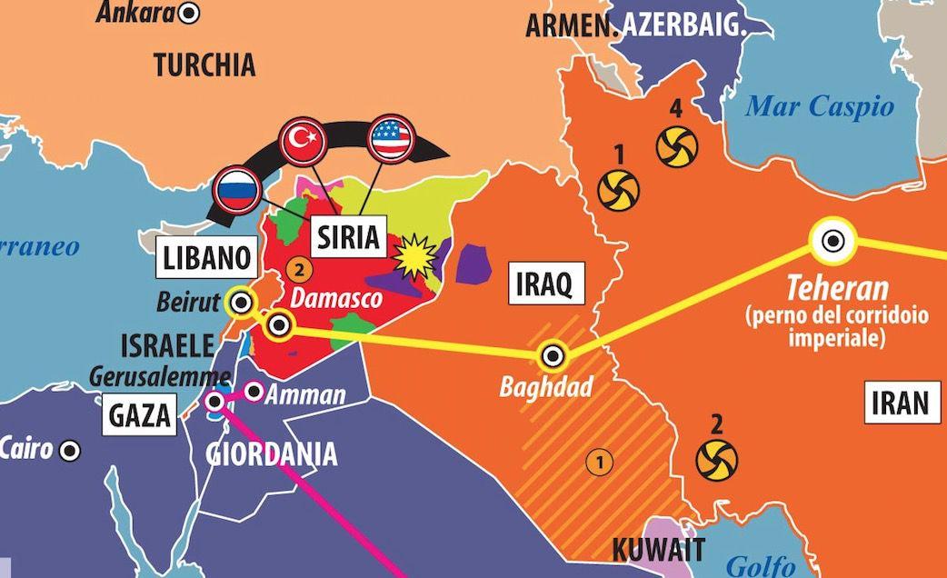 Dettaglio Impero persiano e i suoi nemici