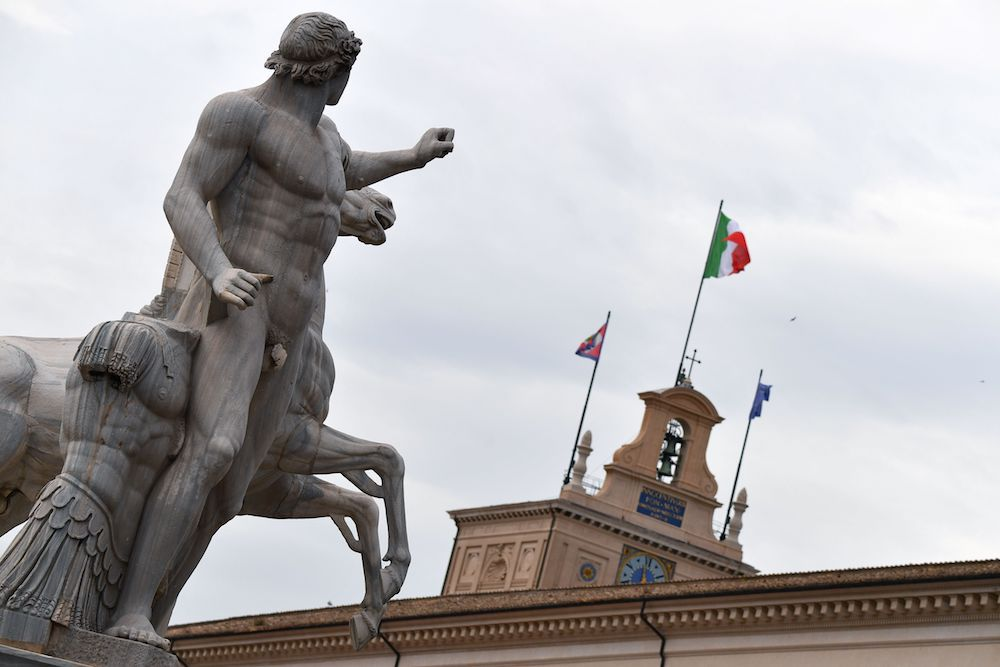 Palazzo del Quirinale (Photo by Alberto PIZZOLI / AFP)        (Photo credit should read ALBERTO PIZZOLI/AFP/Getty Images)