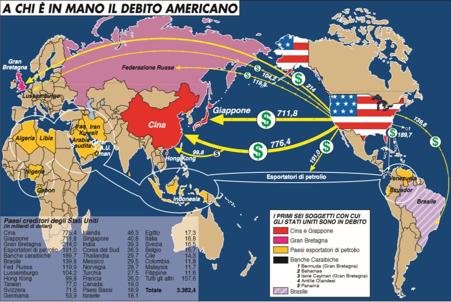"""Carta dal Quaderno Speciale di Limes """"La Cina spacca l'Occidente"""" - settembre 2009"""