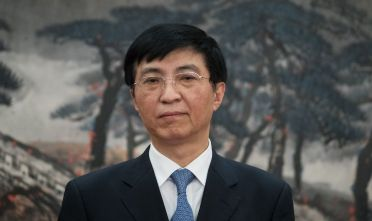 Wang Huming, membro del Comitato permanente del Politburo e responsabile della propaganda del Pcc. (Photo by Lintao Zhang/Getty Images).
